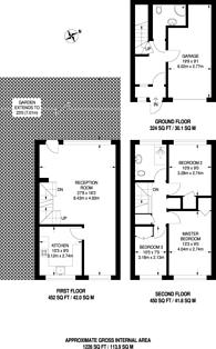 Large floorplan for Grassmount, Forest Hill, SE23