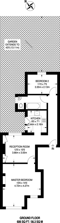 Large floorplan for Melfort Road, Thornton Heath, CR7