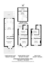 Large floorplan for Effie Place, Fulham Broadway, SW6