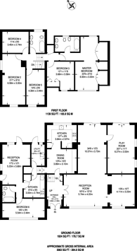 Large floorplan for Sprucedale Gardens, Shirley, CR0
