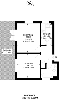 Large floorplan for Brigstock Road, Thornton Heath, CR7