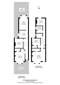 Large floorplan for Kings Road, Leytonstone, E11