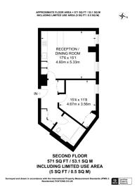 Large floorplan for Cheyne Walk, Chelsea, SW3