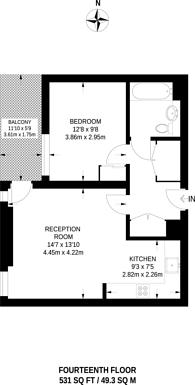 Large floorplan for Caithness Walk, Croydon, CR0