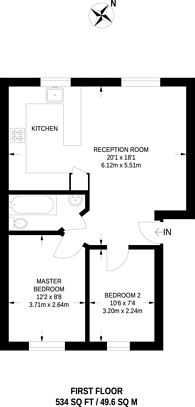 Large floorplan for Cornmow Drive, Dollis Hill, NW10