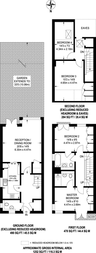 Large floorplan for Mill Drive, Ruislip, HA4