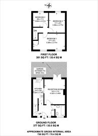 Large floorplan for Old Bromley Road, Bromley, BR1