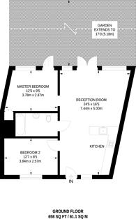 Large floorplan for Eden Way, Bow, E3