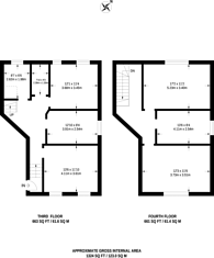 Large floorplan for Brixton Hill, Brixton Hill, SW2