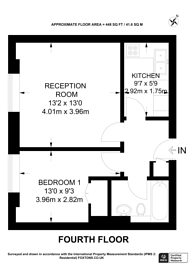 Large floorplan for Greville Road, Kilburn, NW6