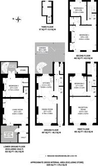 Large floorplan for Liverpool Road, Angel, N1