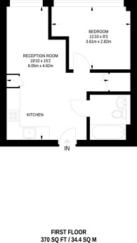 Large floorplan for Green Dragon House, Croydon, CR0