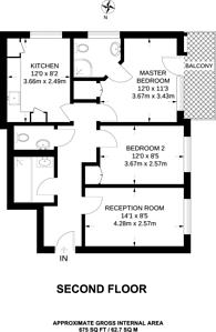 Large floorplan for Hindmarsh Close, Shadwell, E1