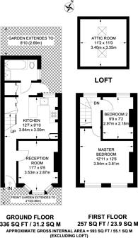 Large floorplan for Janson Road, Stratford, E15