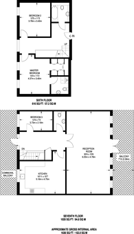 Large floorplan for Pembroke Road, Ruislip, HA4
