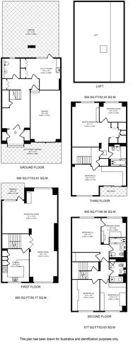 Large floorplan for Blandford Street, Marylebone, W1U