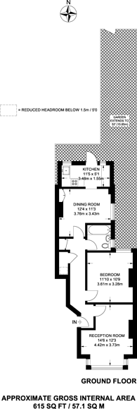 Large floorplan for Merton High Street, Wimbledon, SW19