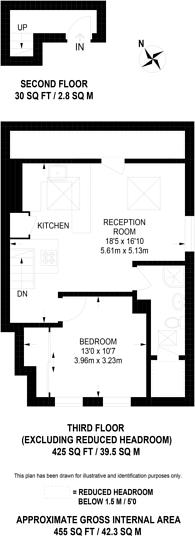 Large floorplan for Homefield Road, Wimbledon Village, SW19