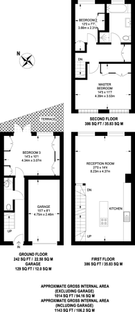 Large floorplan for Prospect Place, Wapping, E1W