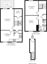 Large floorplan for Otley House, Gillespie Road, Highbury, N5