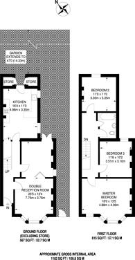 Large floorplan for Hartley Road, Croydon, CR0