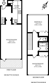 Large floorplan for Highcliffe Drive, Roehampton, SW15