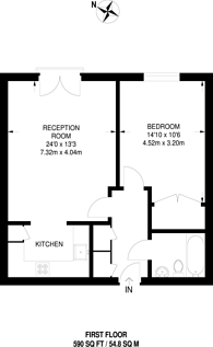 Large floorplan for Great Dover Street, Borough, SE1