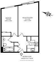 Large floorplan for Plumbers Row, Aldgate, E1