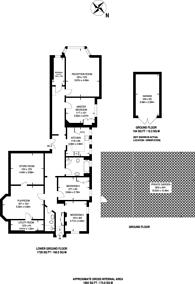Large floorplan for Putney Heath Lane, Putney, SW15