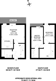 Large floorplan for Dowells Street, Greenwich, SE10