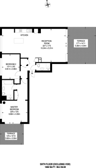 Large floorplan for Graham Street, Islington, N1