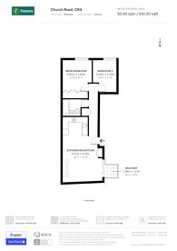 Large floorplan for Church Place, Mitcham, CR4