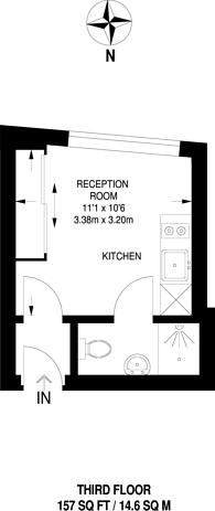 Large floorplan for Crown Hill, Croydon, CR0