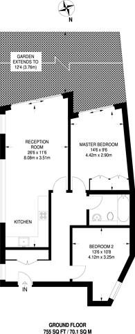 Large floorplan for Redmans Road, Stepney, E1