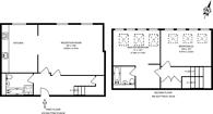 Large floorplan for Yvon House, Battersea Park, SW11