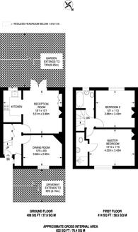 Large floorplan for Sudbury Crescent, Bromley, BR1