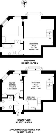 Large floorplan for Chelsea Embankment, Chelsea, SW3