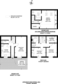 Large floorplan for Margaret Rutherford Place, Balham, SW12