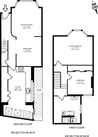 Large floorplan for Mossford Street, Mile End, E3