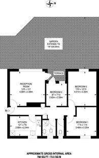 Large floorplan for Storey Street, Docklands, E16