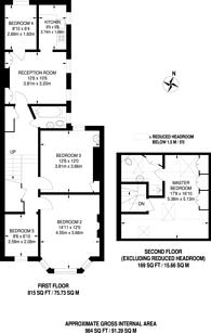 Large floorplan for Nascot Street, North Kensington, W12