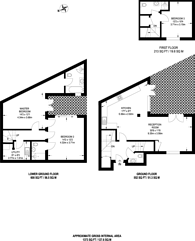 Large floorplan for Winders Road, Battersea Square, SW11