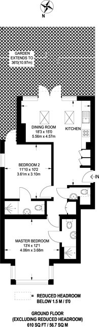 Large floorplan for Enderley Road, Harrow Weald, HA3