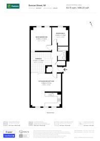Large floorplan for Duncan Street, Islington, N1