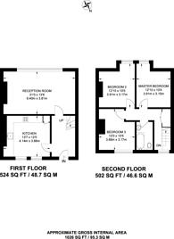 Large floorplan for Streatham High Road, Streatham, SW16