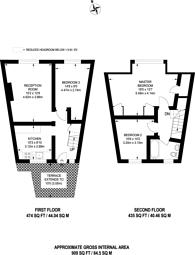 Large floorplan for Robin Hood Way, Kingston, SW15