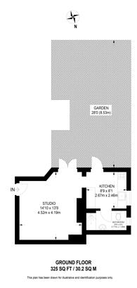 Large floorplan for London Road, Croydon, CR7