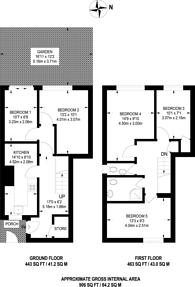 Large floorplan for Nairn Street, Poplar, E14