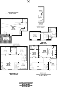 Large floorplan for Camden Road, Holloway, N7
