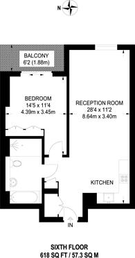 Large floorplan for Paddington Exchange, Paddington, W2